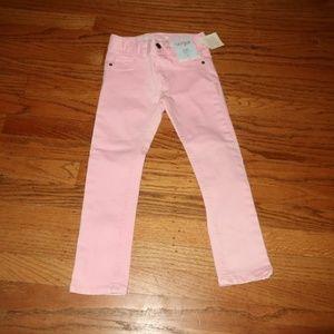 BNWT Cat & Jack Skinny Pink Jeans  4T